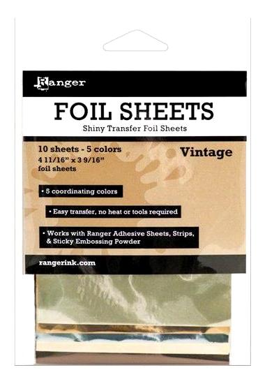 Foil ISF40576  10 ark 5 farger
