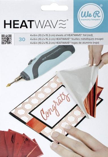 Foil Heatwave Rød 30 stk. 662657