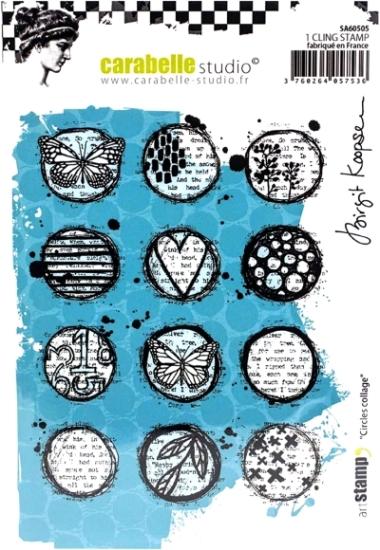 Stempel CS Circles collage SA60505