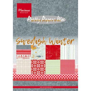 Marianne Design Blokk A5 Swedish winter
