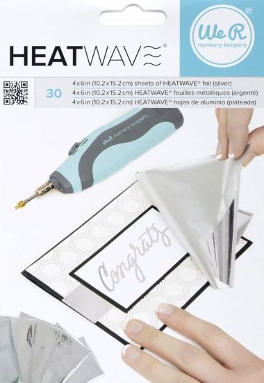 Foil Heatwave Silver 30 stk. 662656