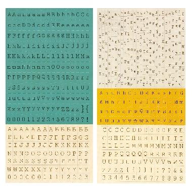 Prima Tiny Alphabet Stickers