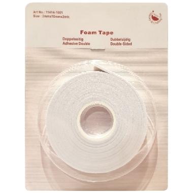 Foam Tape 2 x 10mm x 2m Art. 11414-1001