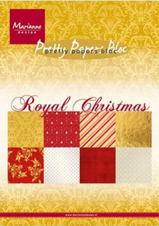 Marianne Design Blokk A5 Royal Christmas