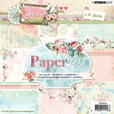 Lovely Moments Paper Pad PPLM124
