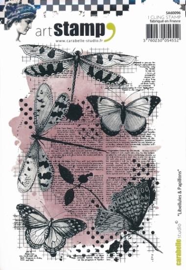 Stempel CS Libellules et Papillons SA60096