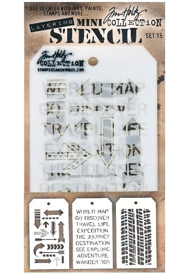 Stencil TH THMST015