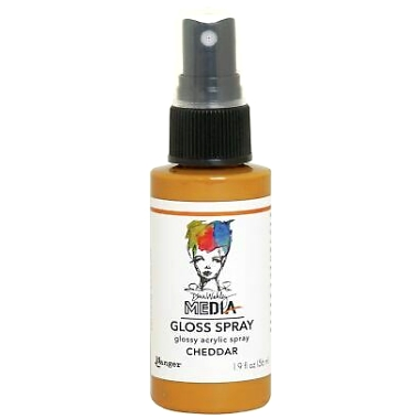 Media Gloss Spray CHEDDAR