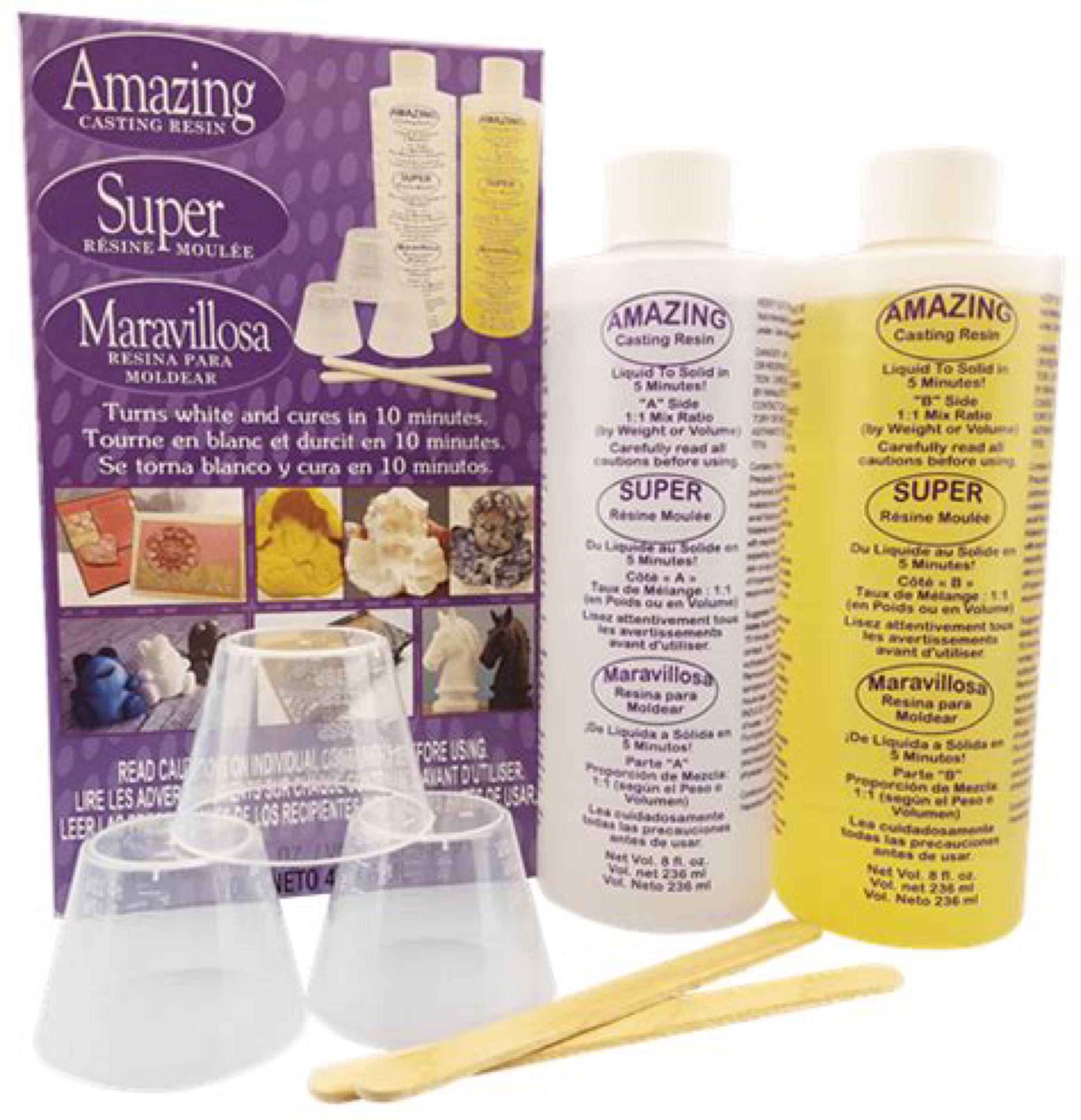 Amazing Casting Resin Kit 16oz (2 part 8oz each) - White