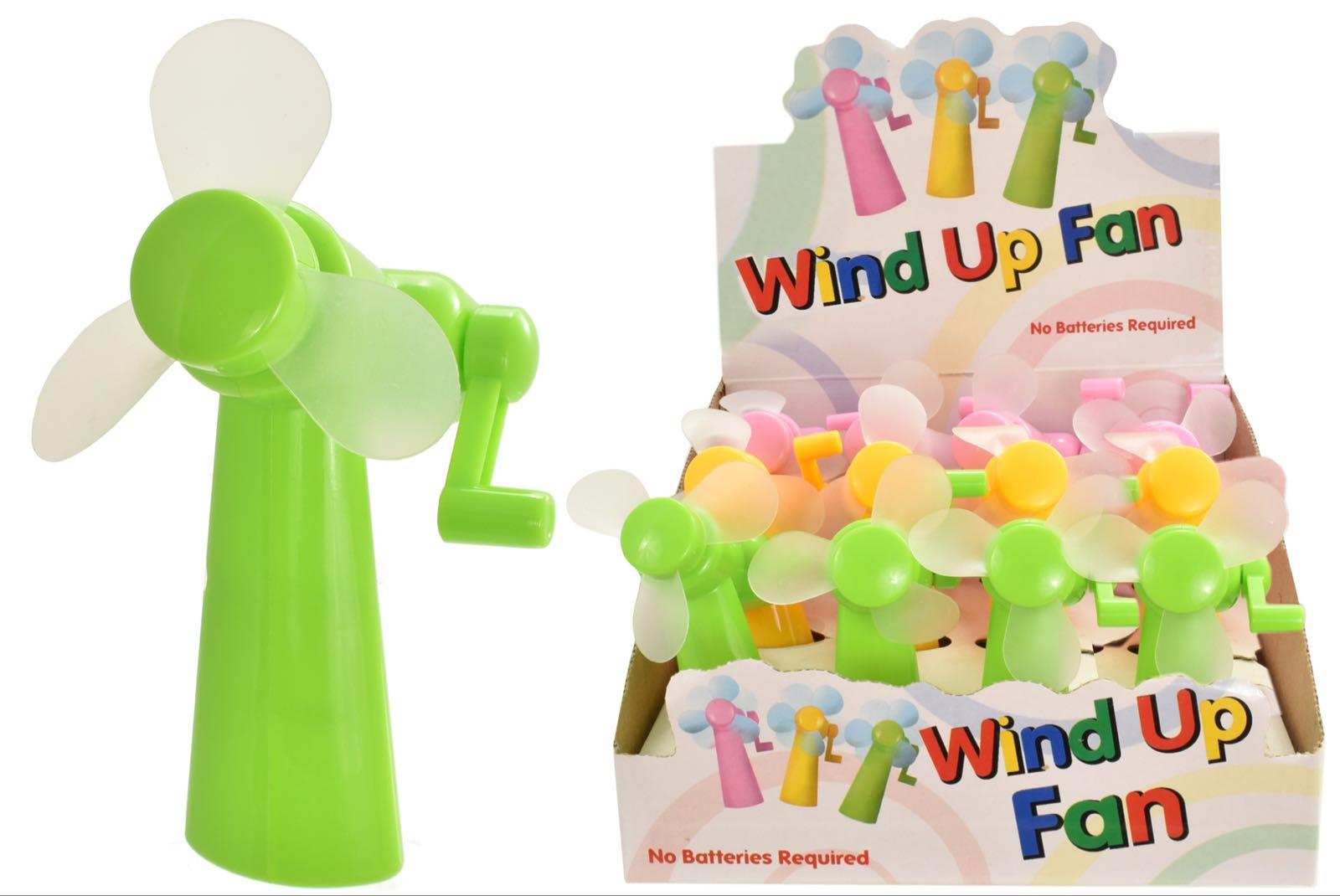 Wind Up Fan