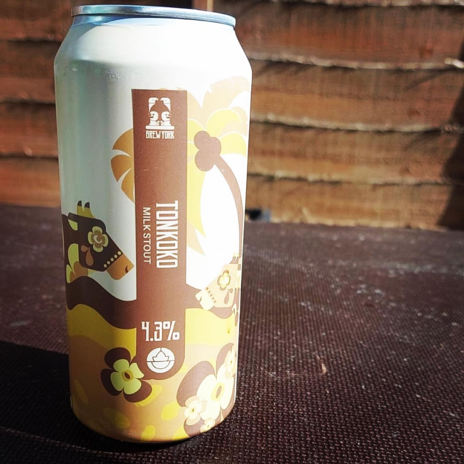 Brew York Tonoko Milk Stout 4.3%
