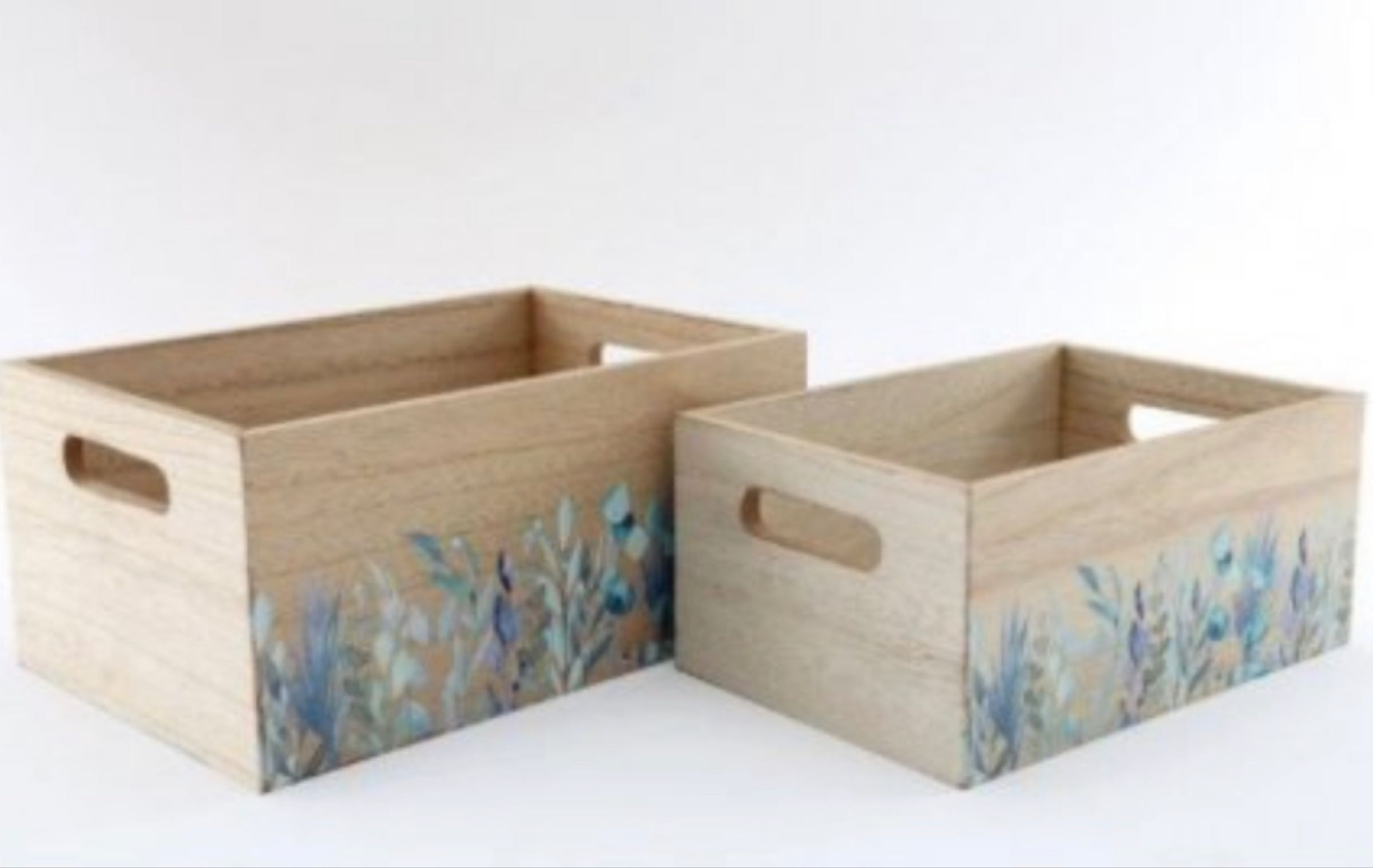 Olive Grove Wooden Crate