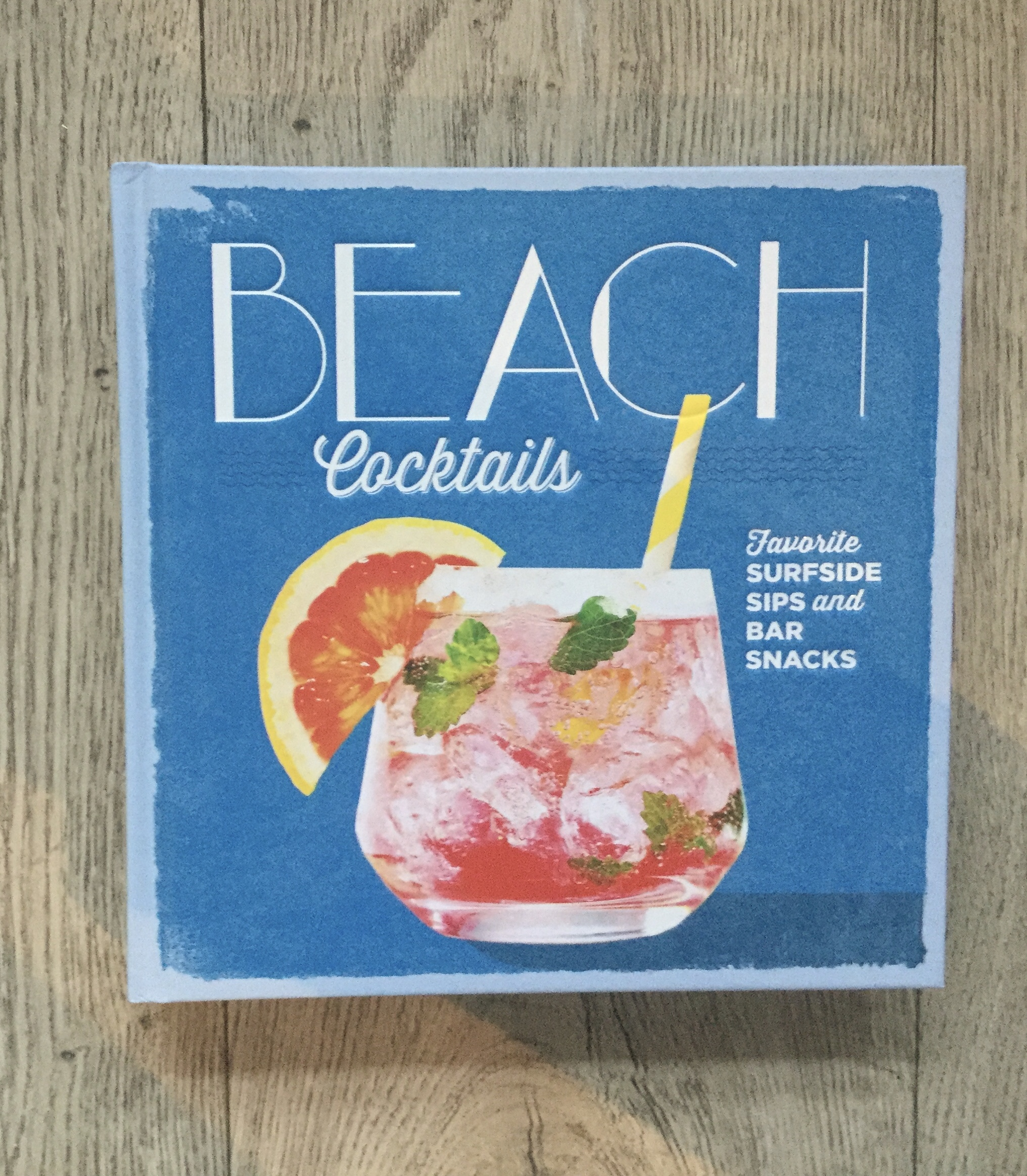 The Beach Cocktails book