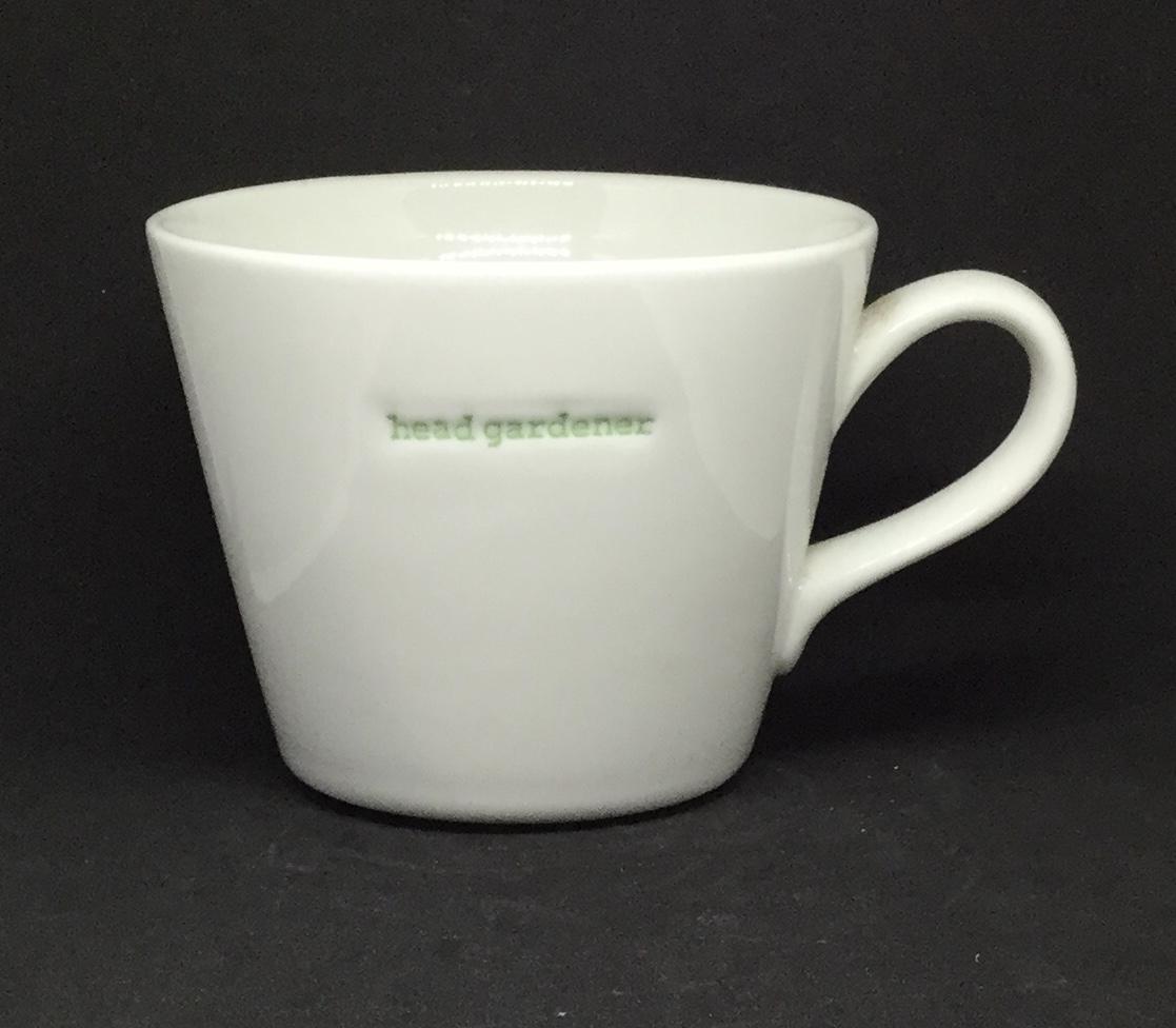 'Head Gardener' fine bone China mug