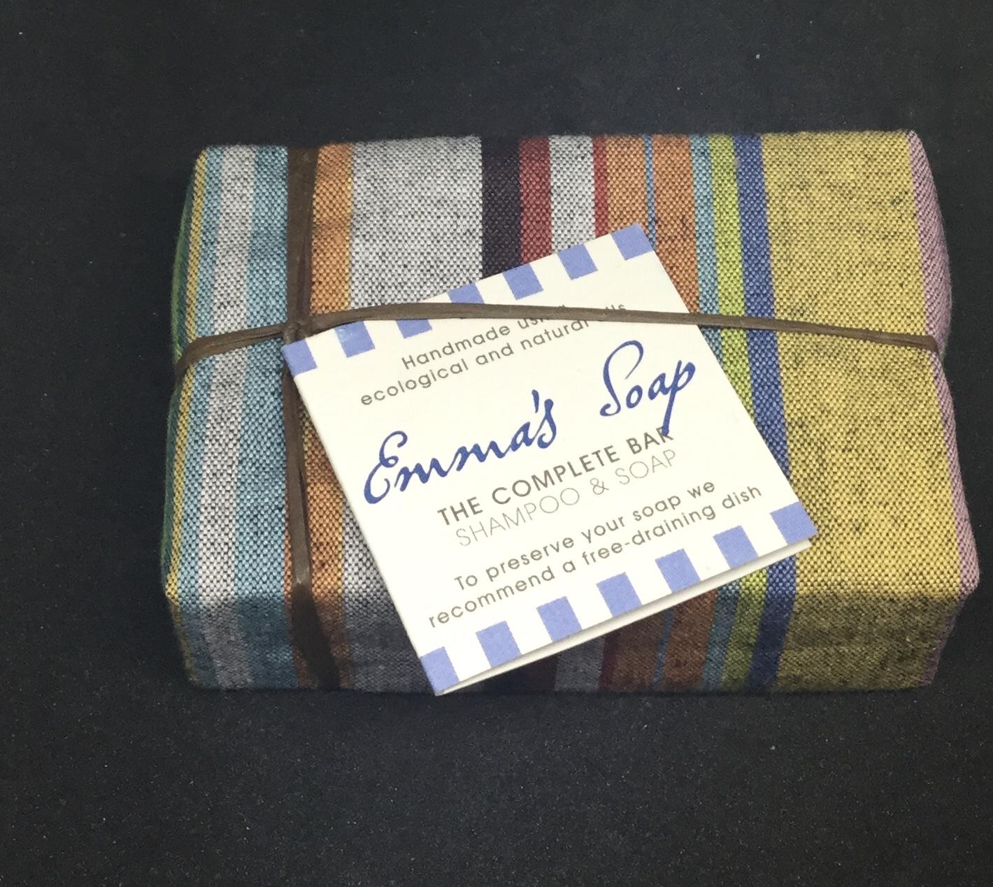 Emma's Shampoo and soap bar