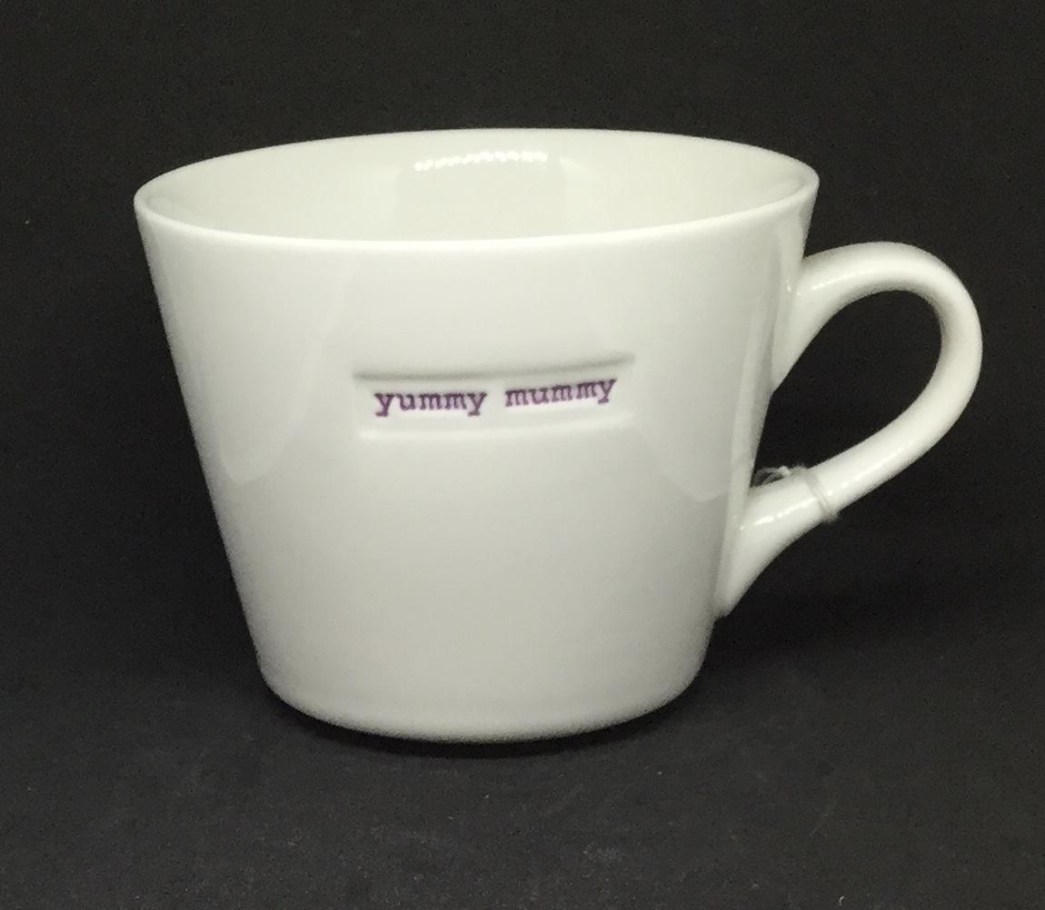 'Yummy Mummy' fine bone China mug