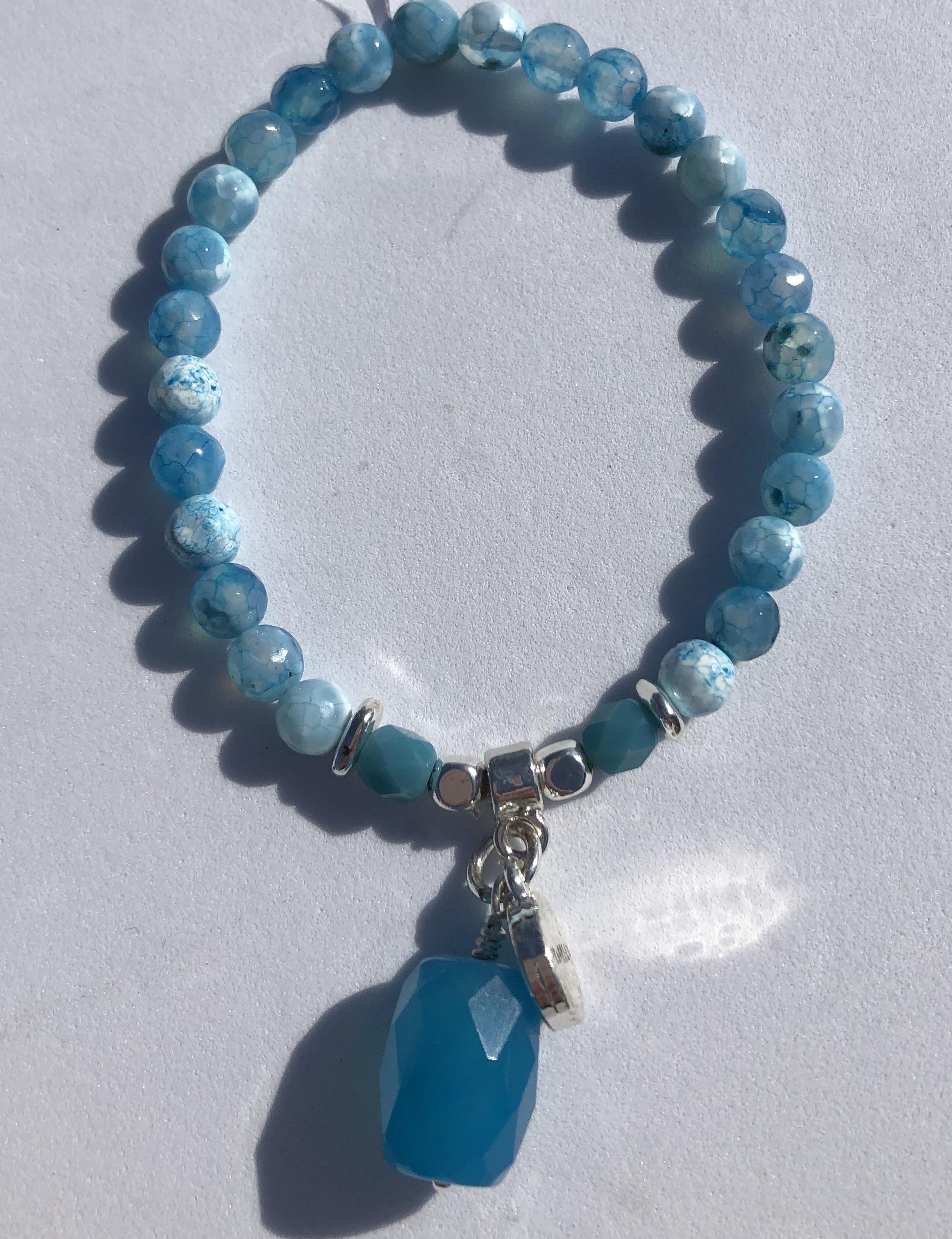 Pranella St Lucia Brazil bauble bracelet
