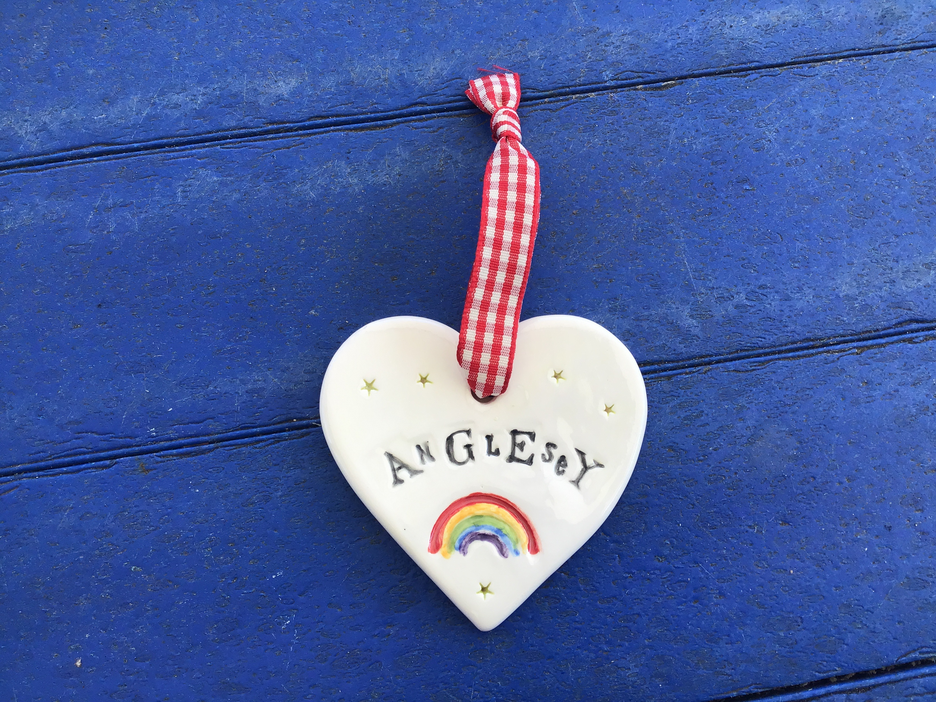 Anglesey ceramic heartb