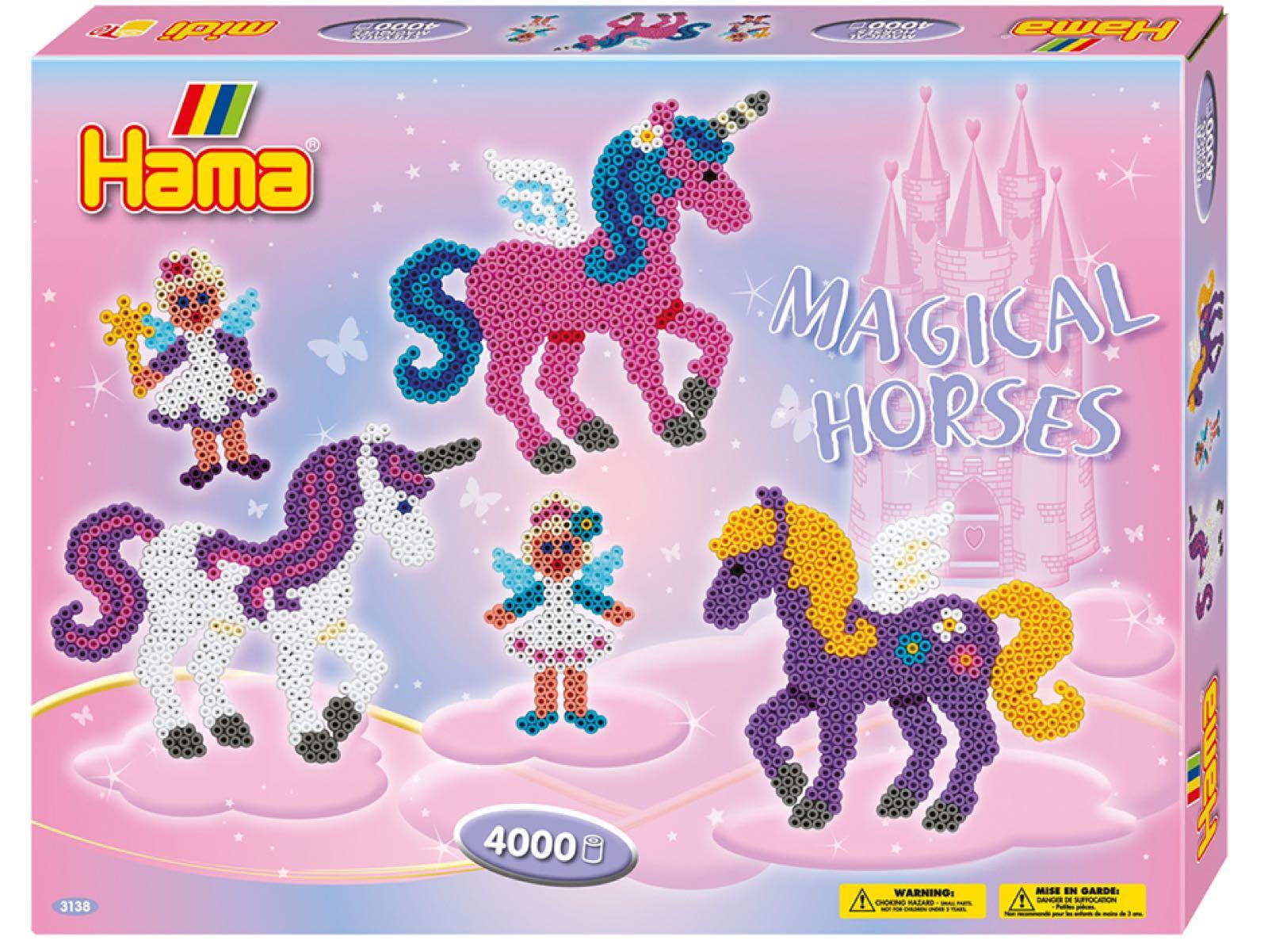 Hama Midi gavesett, magiske hester