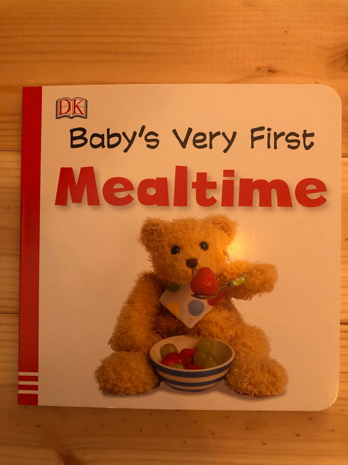 Baby's very first mealtime