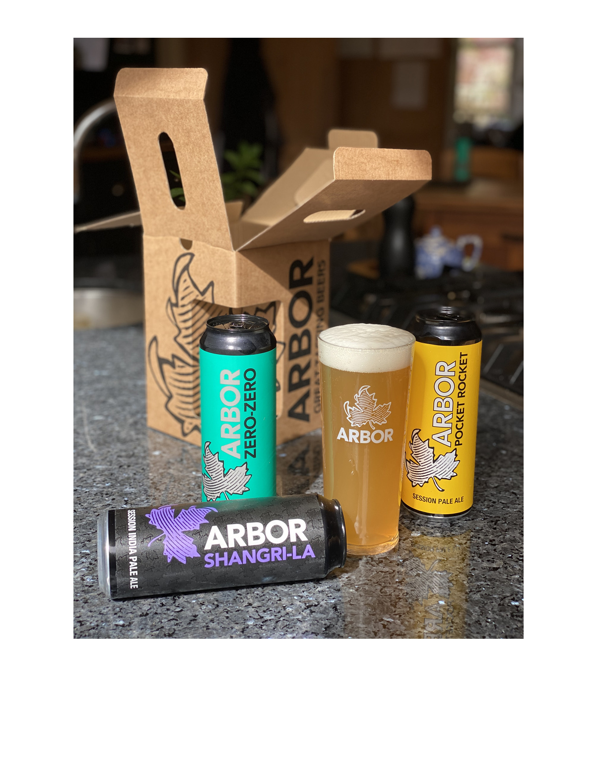 Beautiful Arbor 3 Can Box