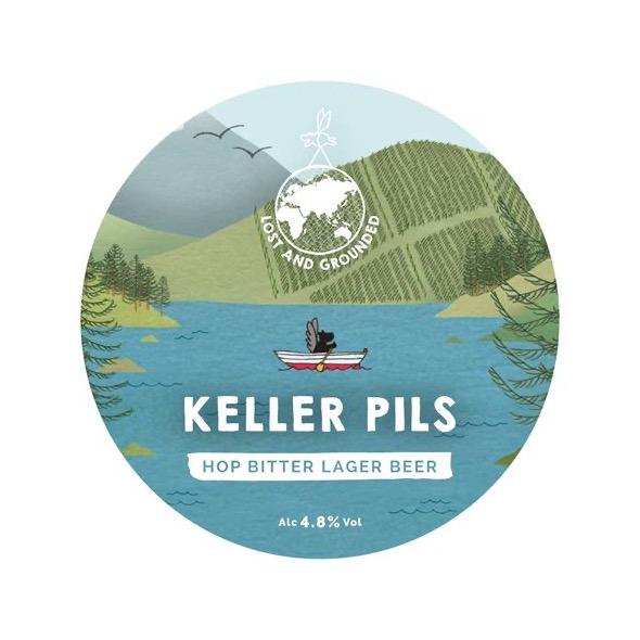 Keller Pils 5 litre mini keg