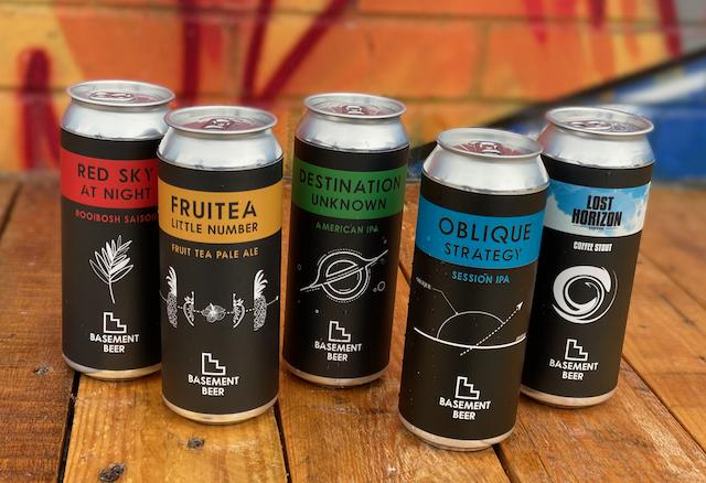 Basement Beer Cans
