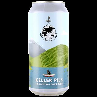 Keller Pils can