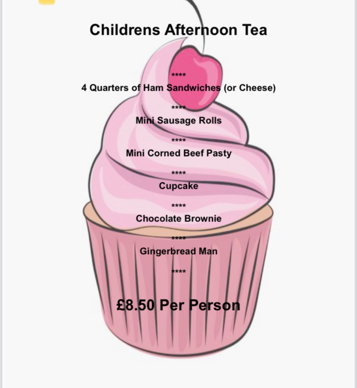 Childrens Afternoon Tea