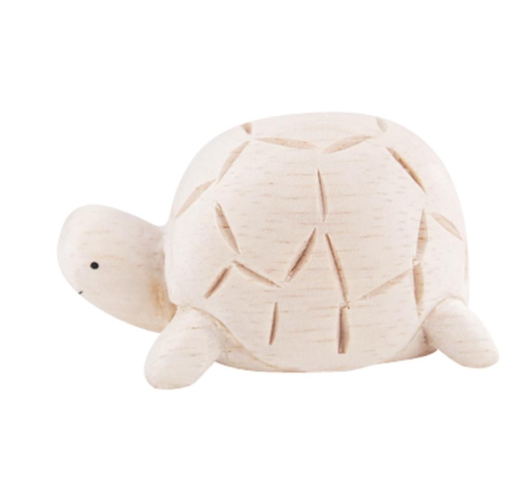 T-Lab Holztier Schildkröte
