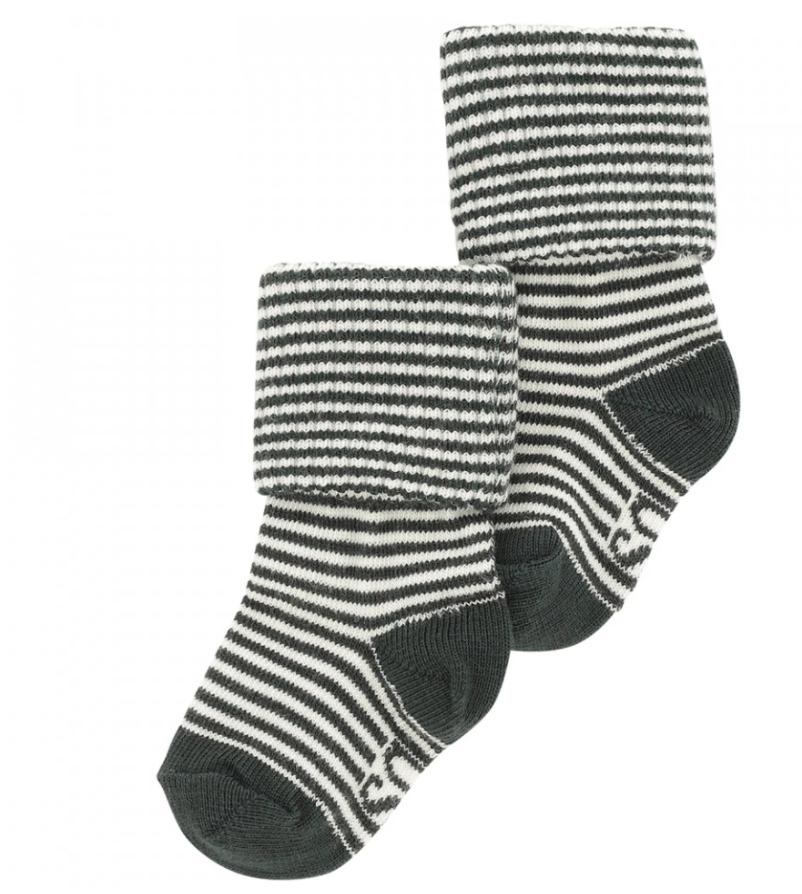 Soft Gallery Baby Boy Socks Gardenia Stripes