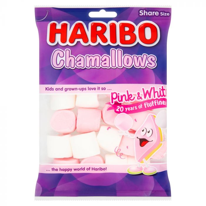 Haribo Chamallows Pink & White Share Bags 140g