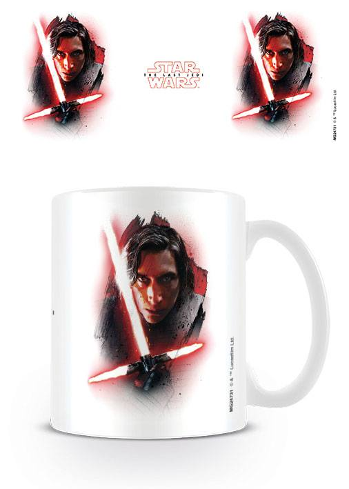 Star Wars The Last Jedi - Kylo Ren Brushstroke Mug