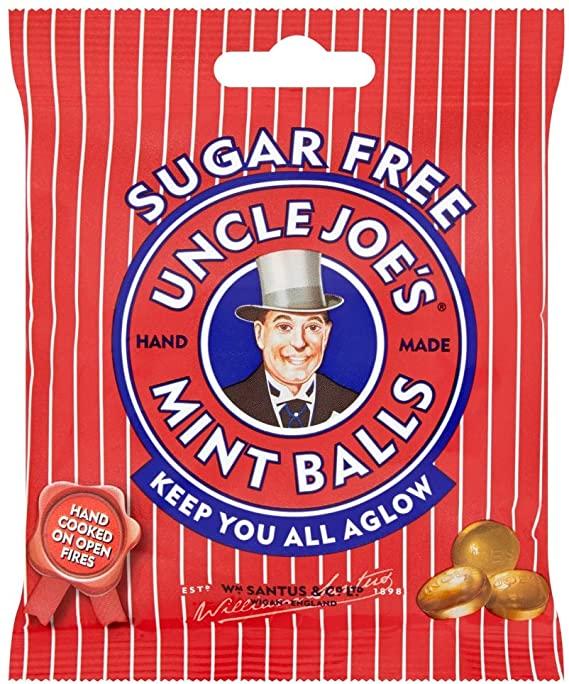 Uncle Joe's Sugar Free Bag 60g