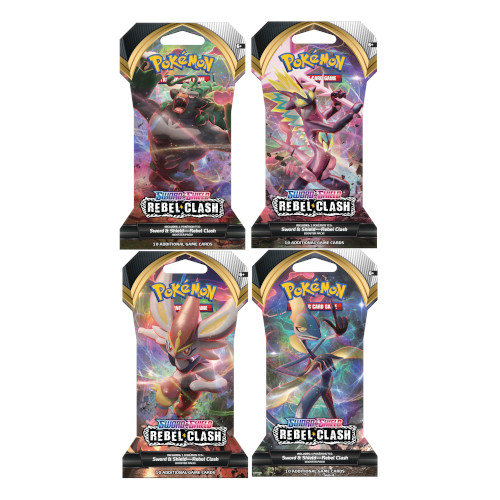 Pokemon - Sword & Shield Rebel Clash Booster Pack