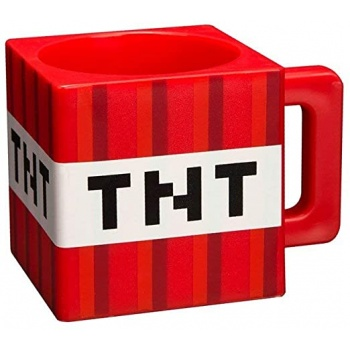 Minecraft TNT Mug Plastic