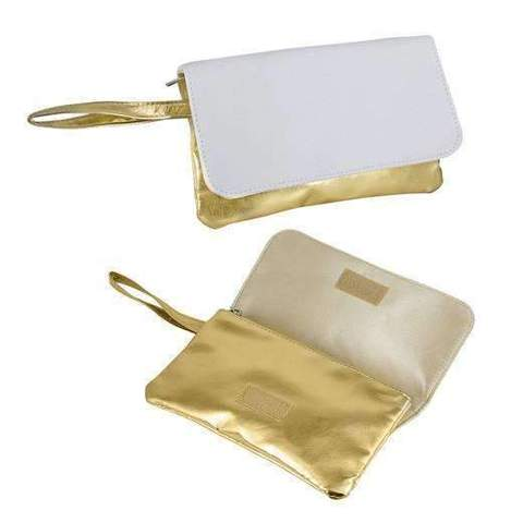 GOLD SCOSMETIC BAG
