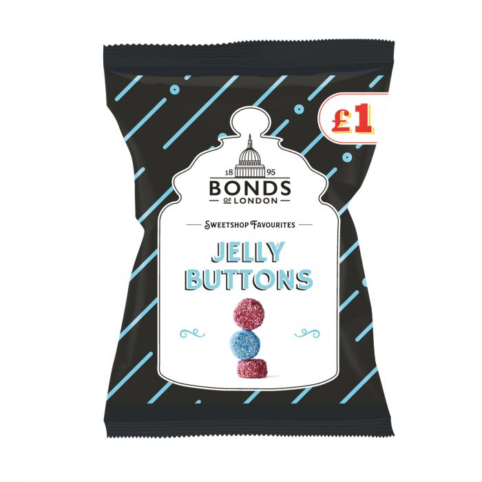 Jelly Buttons Bags 150g
