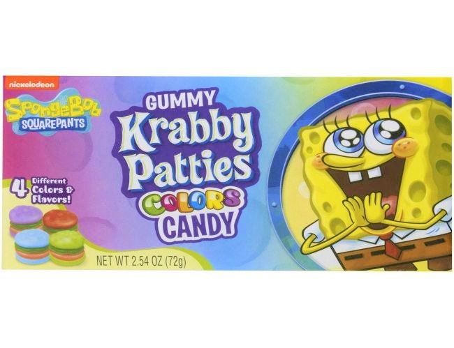 Krabby Patties Candy Theatre Box (72g)