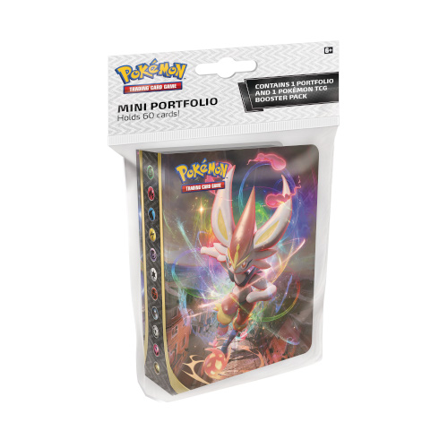 Pokemon - Sword & Shield Rebel Clash - Mini Portfolio With Booster