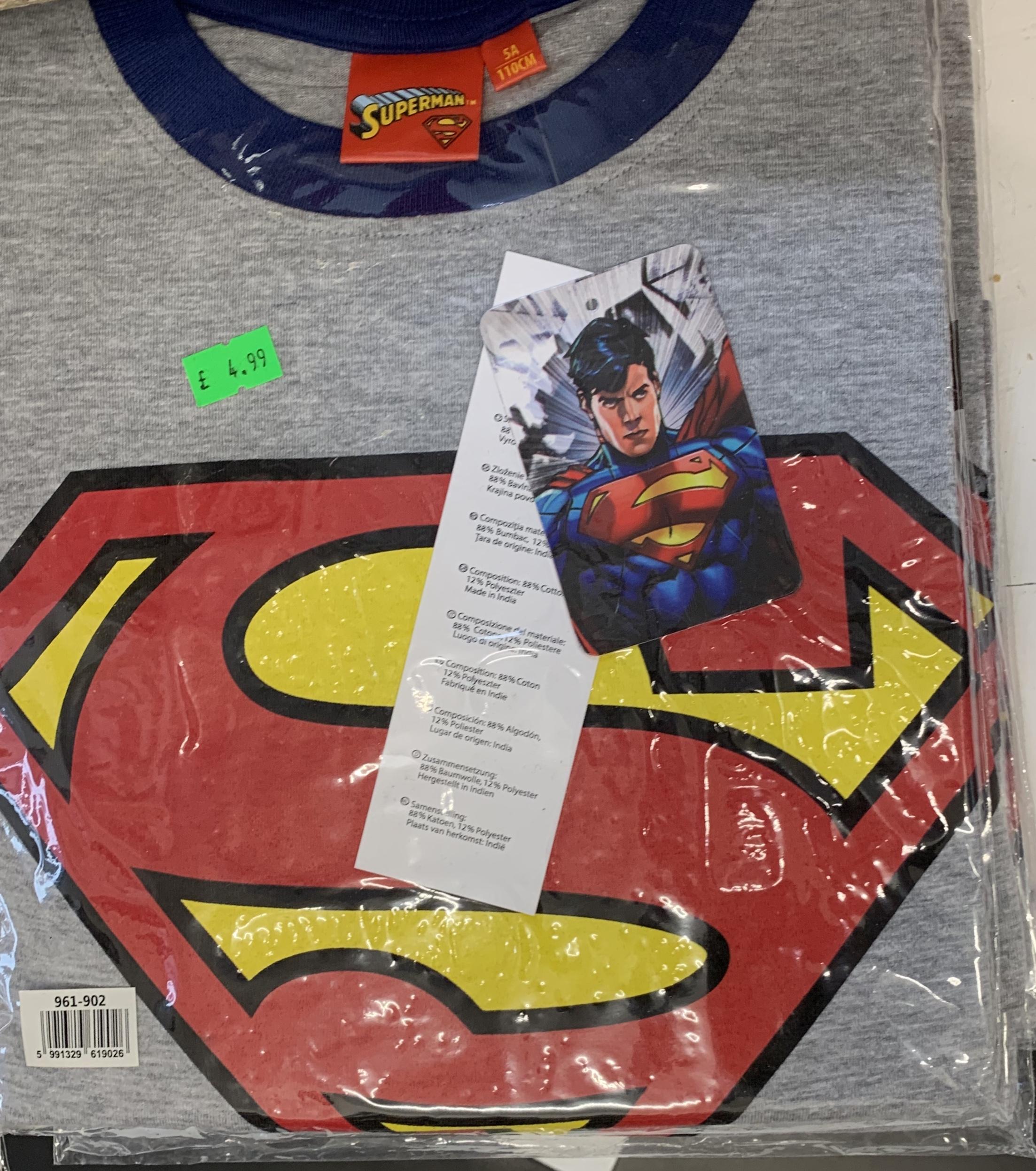 Childrens Superman T-shirt
