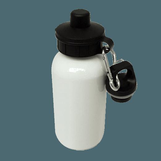 WATER BOTTLE 400ML WHITE
