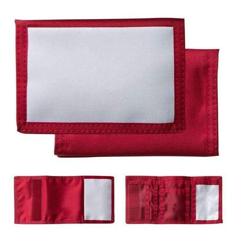 NYLON WALLET RED