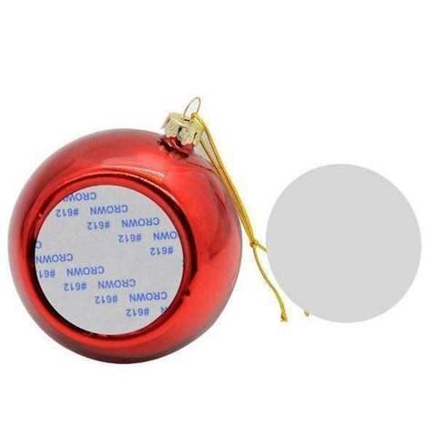 CHRISTMAS BAUBLE -RED