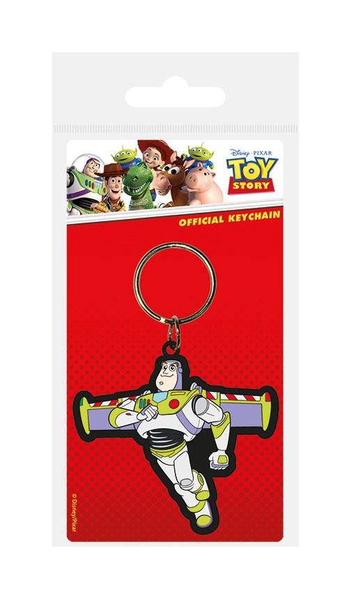 Toy Story Rubber Keychain Buzz Lightyear 6 cm