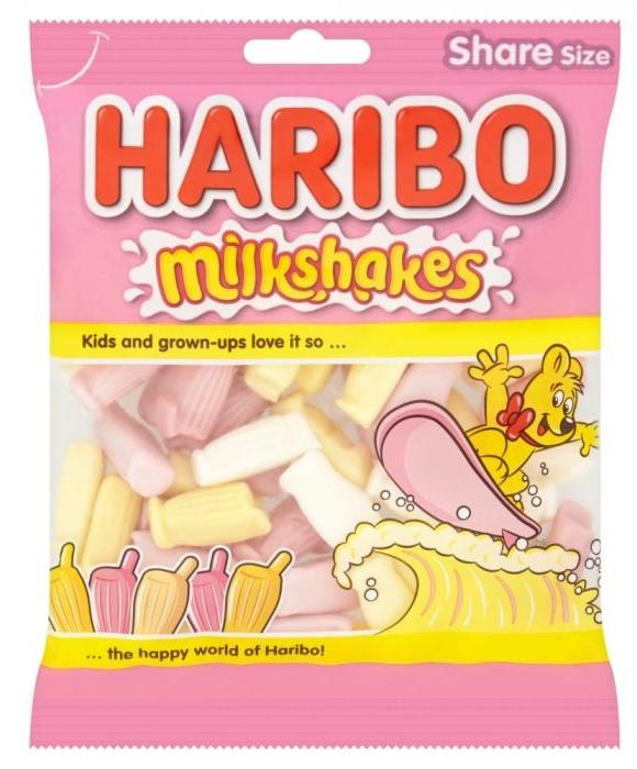 Haribo Milkshakes Share Bags 140g
