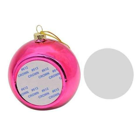 CHRISTMAS BAUBLE -PINK