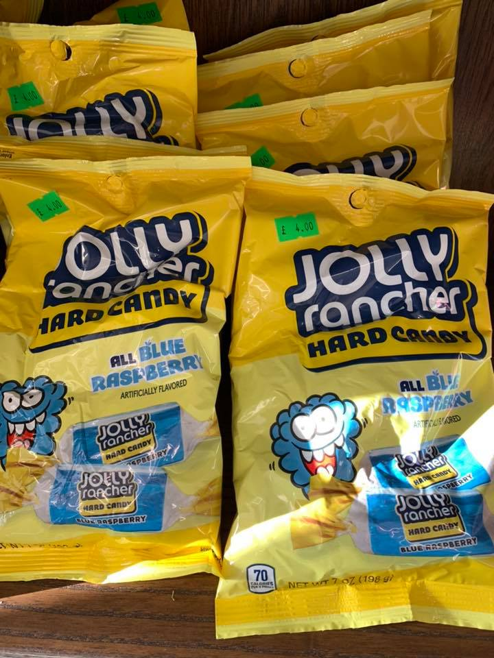 Jolly Rancher Hard Candy Blue Bags
