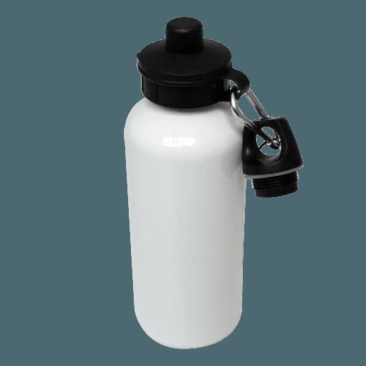 WATER BOTTLE 600ML WHITE