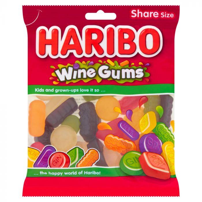 Haribo Wine Gums Share Bag 160g